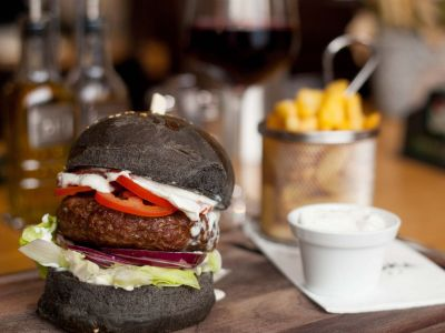 Divinový burger